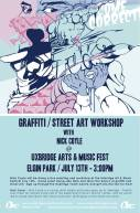 Graffiti/Street Art Workshop