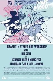 Graffiti/Street Art Workshop
