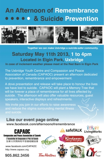 Afternoon of Remembrance & Suicide Prevention_Web