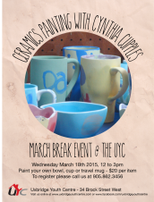 March Break - Ceramics